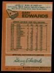 1978 Topps #6  Gary Edwards  Back Thumbnail