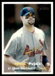 2006 Topps Heritage #165 A Albert Pujols  Front Thumbnail