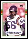 1989 Topps #84  Chris Doleman  Front Thumbnail