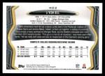 2013 Topps #403  Le'Veon Bell   Back Thumbnail
