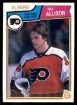 1983 O-Pee-Chee #259  Ray Allison  Front Thumbnail