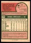 1975 O-Pee-Chee #133  Dan Driessen  Back Thumbnail