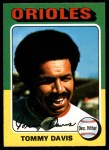 1975 O-Pee-Chee #564  Tommy Davis  Front Thumbnail