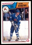 1983 O-Pee-Chee #304  Peter Stastny  Front Thumbnail