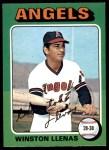 1975 O-Pee-Chee #597  Winston Llenas  Front Thumbnail