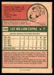1975 O-Pee-Chee #105  Buzz Capra  Back Thumbnail