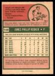 1975 O-Pee-Chee #148  Jim Rooker  Back Thumbnail