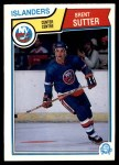 1983 O-Pee-Chee #18  Brent Sutter  Front Thumbnail