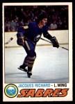 1977 O-Pee-Chee #366  Jacques Richard  Front Thumbnail