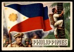 1956 Topps Flags of the World #41   Philippines Front Thumbnail
