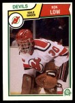 1983 O-Pee-Chee #233  Ron Low  Front Thumbnail