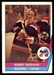 1977 O-Pee-Chee WHA #47  Bobby Sheehan  Front Thumbnail