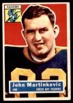 1956 Topps #91  John Martinkovic  Front Thumbnail