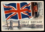 1956 Topps Flags of the World #26   Great Britain Front Thumbnail