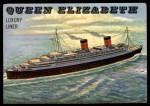 1955 Topps Rails & Sails #152   Queen Elizabeth Front Thumbnail