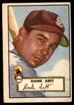 1952 Topps #284  Hank Arft  Front Thumbnail