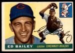 1955 Topps #69  Ed Bailey  Front Thumbnail