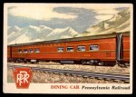 1955 Topps Rails & Sails #96   Dining Car Front Thumbnail