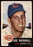 1953 Topps #105  Joe Nuxhall  Front Thumbnail
