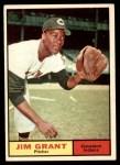 1961 Topps #18  Mudcat Grant  Front Thumbnail