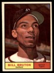 1961 Topps #251  Bill Bruton  Front Thumbnail
