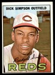 1967 Topps #6  Dick Simpson  Front Thumbnail