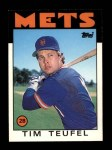 1986 Topps Traded #109 T Tim Teufel  Front Thumbnail
