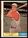 1961 Topps #215  Gus Bell  Front Thumbnail