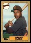 1987 Topps Traded #69 T Shane Mack  Front Thumbnail