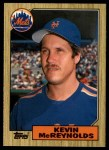 1987 Topps Traded #76 T Kevin McReynolds  Front Thumbnail