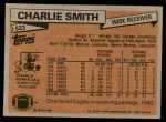 1981 Topps #523  Charlie Smith  Back Thumbnail