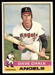1976 Topps #52  Dave Chalk  Front Thumbnail