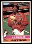 1976 Topps #625  J.R. Richard  Front Thumbnail