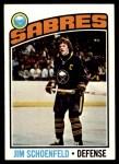 1976 Topps #241  Jim Schoenfeld  Front Thumbnail