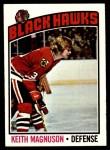 1976 Topps #125  Keith Magnuson  Front Thumbnail