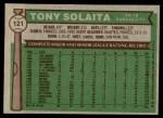 1976 Topps #121  Tony Solaita  Back Thumbnail