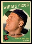 1959 Topps #361  Willard Nixon  Front Thumbnail
