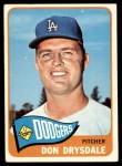 1965 Topps #260  Don Drysdale  Front Thumbnail