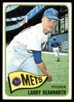 1965 Topps #258  Larry Bearnarth  Front Thumbnail