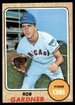 1968 Topps #219  Rob Gardner  Front Thumbnail