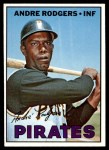 1967 Topps #554  Andre Rodgers  Front Thumbnail