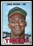 1967 Topps #394  Jake Wood  Front Thumbnail