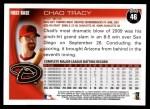 2010 Topps #46  Chad Tracy  Back Thumbnail