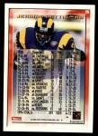 1995 Topps #26  Jerome Bettis  Back Thumbnail