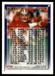 1995 Topps #33  Steve Young  Back Thumbnail