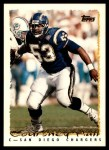 1995 Topps #99  Courtney Hall  Front Thumbnail