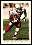1995 Topps #165  Larry Centers  Front Thumbnail