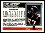 1995 Topps #198  Moe Gardner  Back Thumbnail