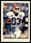 1995 Topps #318  Andre Reed  Front Thumbnail