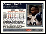 1995 Topps #330  Emmitt Smith  Back Thumbnail